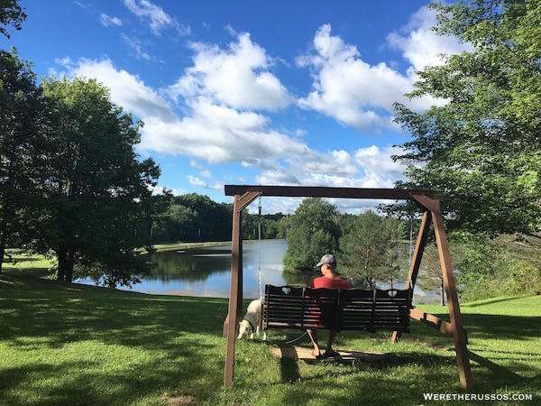 Kenisee Lake RV Campground Thousand Trails Ohio