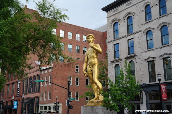 Louisville statue of david
