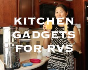 Kitchen Gadgets for RVs