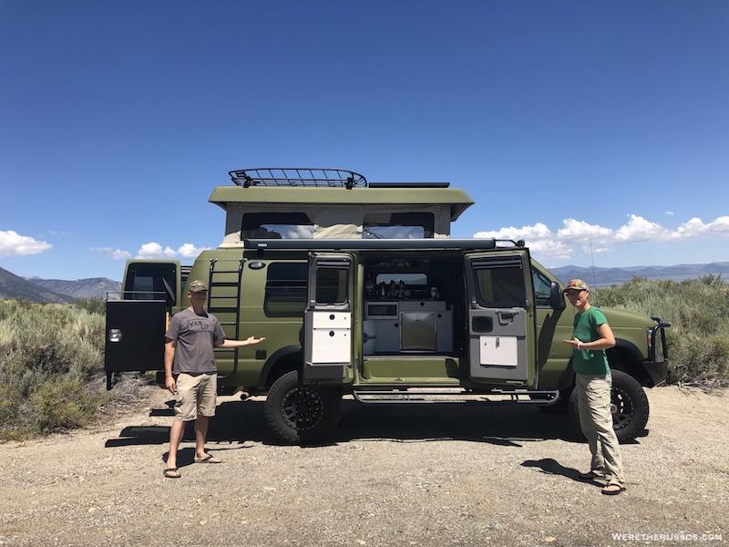 Sportsmobile 4x4 Custom Camper Vans