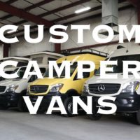 Sportsmobile Custom Class B Camper Vans