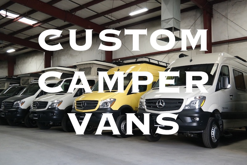Sportsmobile Custom Class B Camper Vans