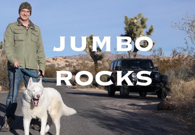 Jumbo Rocks Campground Joshua Tree