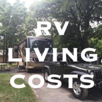 RV Living costs