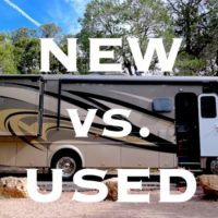 New vs Used RV