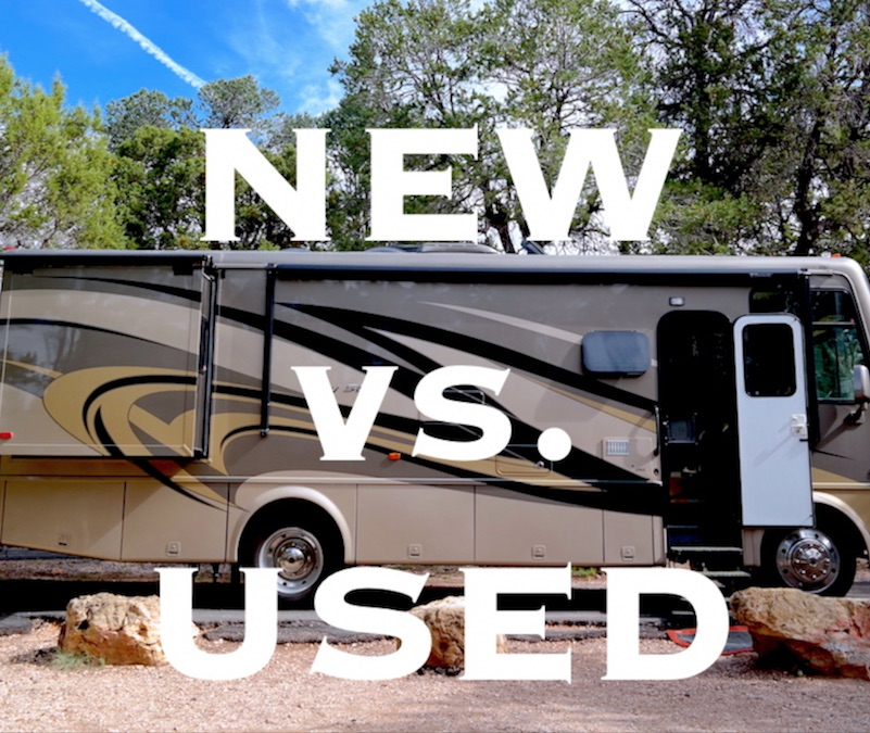 Pros & Cons of Buying a New vs  Used RV - Why We Bought a New RV