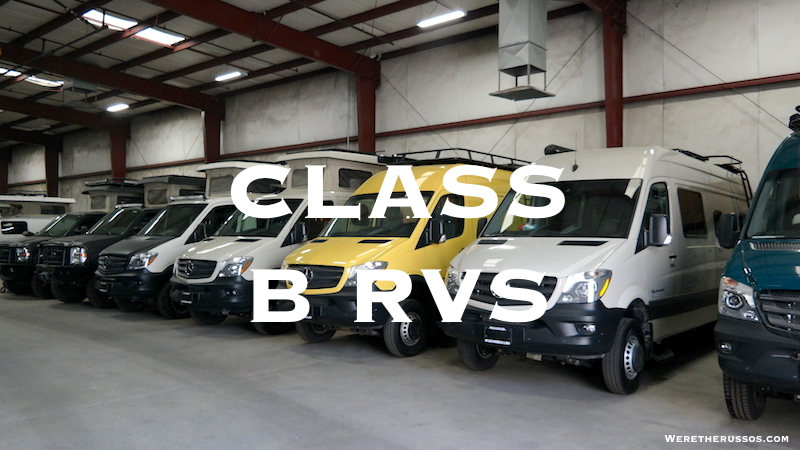 Cl B Rv Manufacturers List