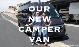 Camper van Class B RV
