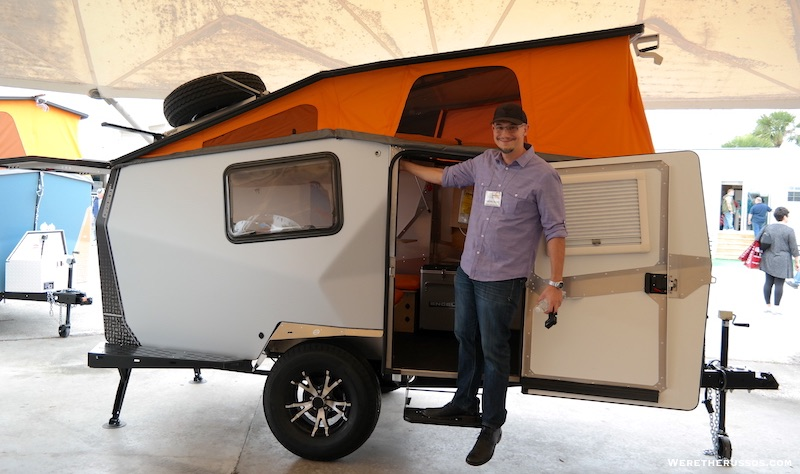 Unique  Provides A Simple Affordable Customizable Camping Trailer Option