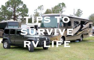 RV Living tips