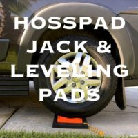 RV Jack Pads by Hosspads