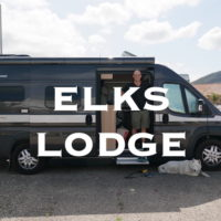 Elks Lodge RV Parking