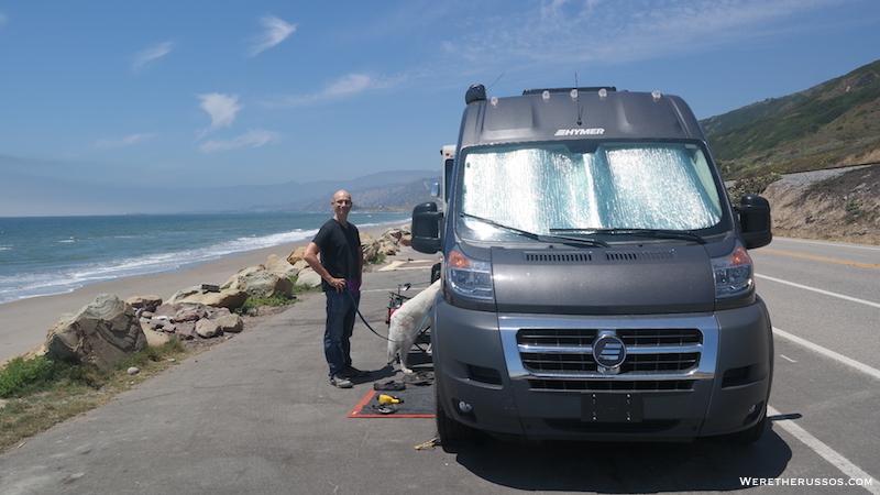 Ventura Beach Camping Rincon Parkway Beachfront Rv Camping