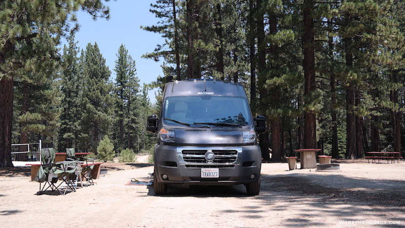 Tahoe Valley Campground preium site
