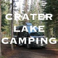 Crater Lake Camping Mazama campground