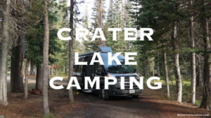 Crater Lake Camping Mazama campground