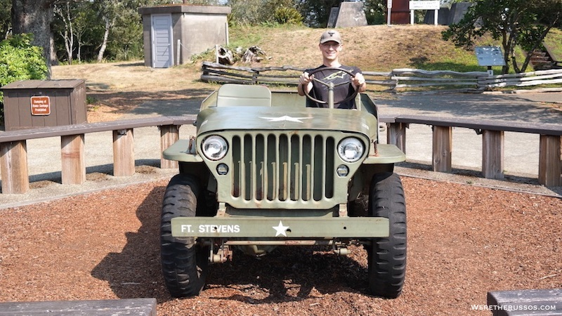 Fort Stevens State Park Oregon