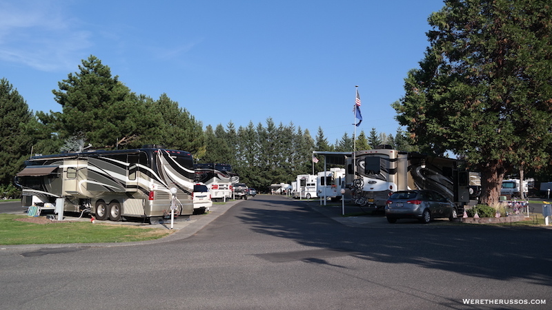 Rv Camping Portland Oregon Portland Fairview Rv Park