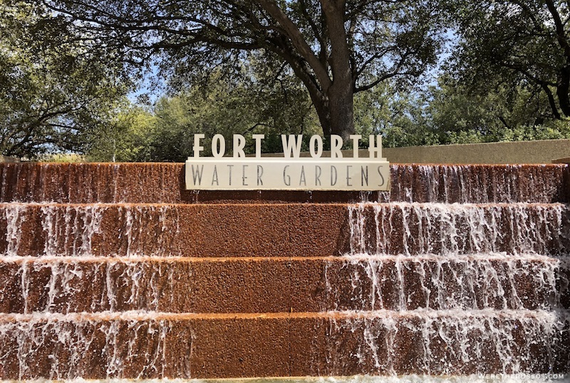 Forth Worth Water Gardens