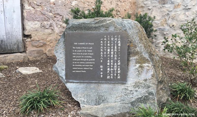 Japanese Garden of Peach Fredericksburg TX