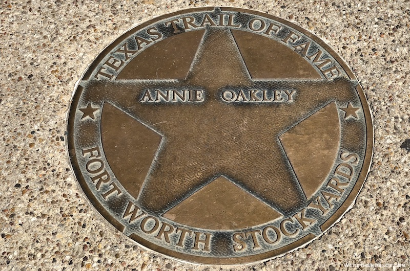 Texas Trail of Fame Annie Oakley