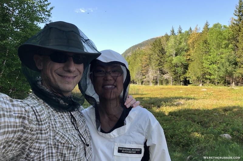 The Original Bug Shirt at Jordon Pond Acadia National Park