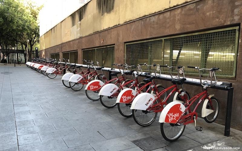 bicing bicycle rental barcelona