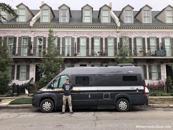 Van Life New Orleans