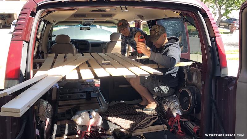 DIY Camper Van Build: Converting a