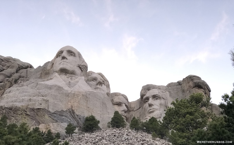 Mt Rushmore Presidential Trail