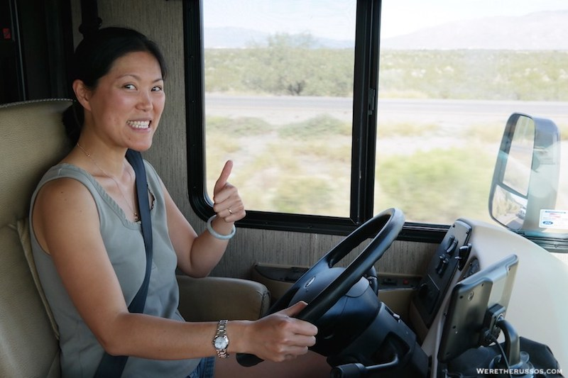 Kait Russo Driving RV